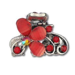 petite-pince-crabe-argentée-flora-rouge