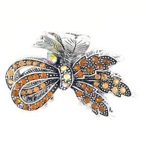 Pince crabe moyenne argentée Louisia