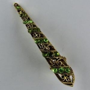 Pince Crocodile moyenne dorée Style