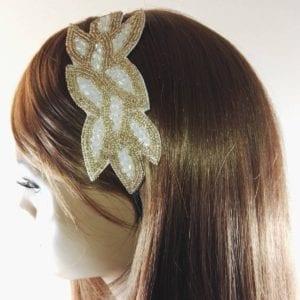 Serre-tête perles Flory