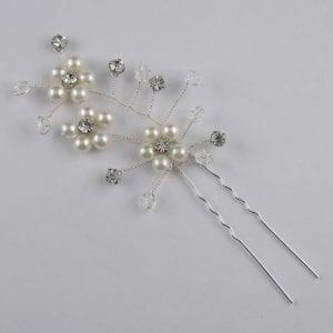 Epingle à Cheveux Perles Cristal