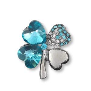 broche-trèfle-et-cœurs-strass-en-cristal-bleu