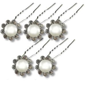 lot-d'Épingles-perles-couleur-pastel-et-strass-blanc