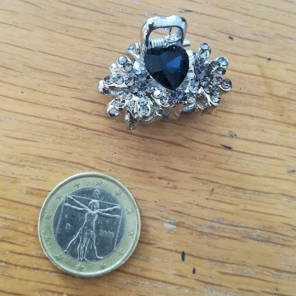 Petite Pince Cheveux Crabe Chalma